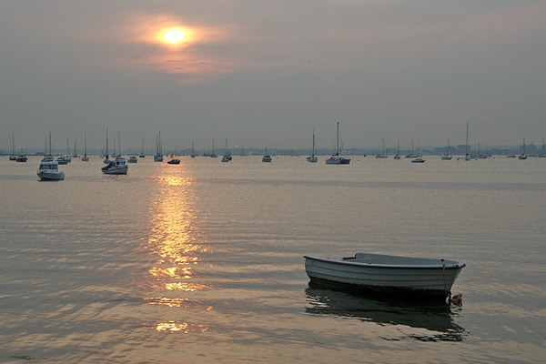 Poole Harbour - photo by Peter Pearson 12.05.06